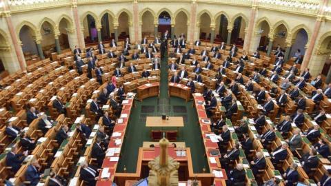 Országgyűlés; kép forrása: parlament.hu